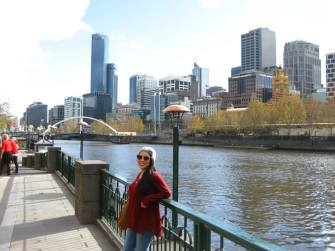 Melbourne CBD, Yarra River, right off of South Bank where I had my first ever job