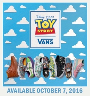 Toy Story and Vans Collaborate